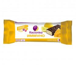 Батончик, Рационика 30 г Иммуно комплекс витаминов A C E лимон и мед