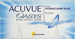 Линзы контактные, Акувью №6 Оазис bc 8.4 мм (-7.50)